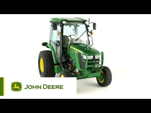 John Deere - Trattore compatto 4066R - Panoramica