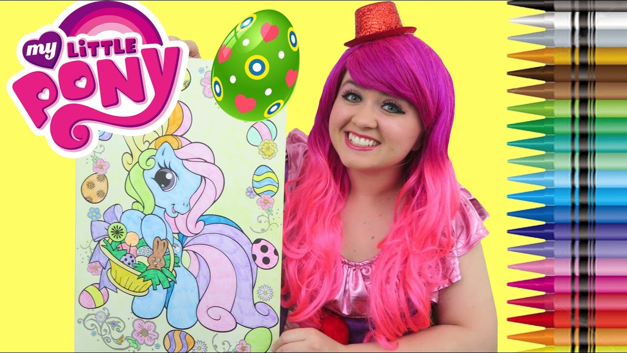 Coloring Rainbow Dash Easter Egg My Little Pony Giant Coloring