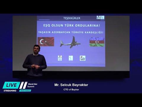 SELÇUK BAYRAKTAR AZERBAYCAN WORLD NET SUMMIT SUNUMU
