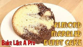 Almond Chocolate Marble Bundt Coffee Cake Recipe