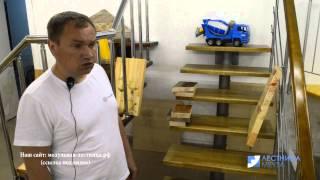 видео Изготовление лестниц Уфа
