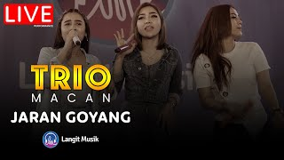 TRIO MACAN - JARAN GOYANG | LIVE PERFORMANCE | LET'S TALK MUSIC WITH TRIO MACAN | ALWAYS HD