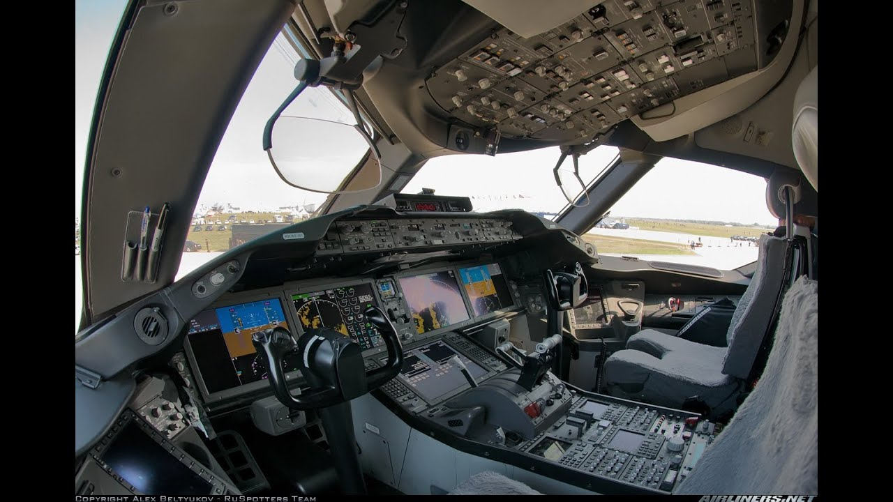 Boeing 787 Cockpit Full Hd Youtube