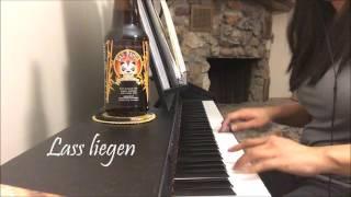 Lass liegen - Alligatoah (Piano cover)