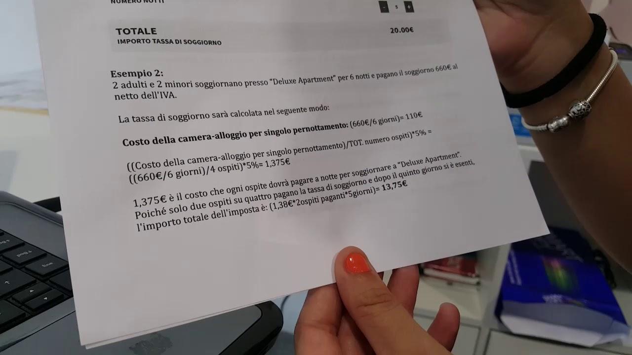 La nuova tassa di soggiorno di Bergamo - YouTube