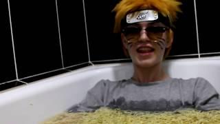 """Йоу, собаки! Я - Наруто Узумаки!"" MC Norman (Дай-Фест XII, Омск, 25.11.18) (cosplay)"