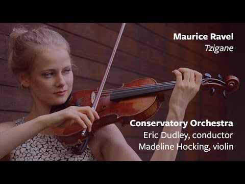 Madeline Hocking '17 Performs Maurice Ravel's