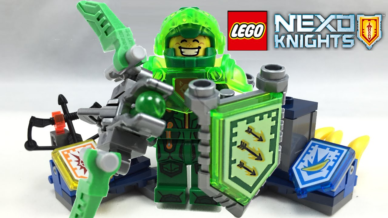 lego nexo knights ultimate aaron set review 70332