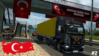 ETS 2 | TR MAP / İSTANBUL - SAKARYA TURU #2 (--Türkçe--)