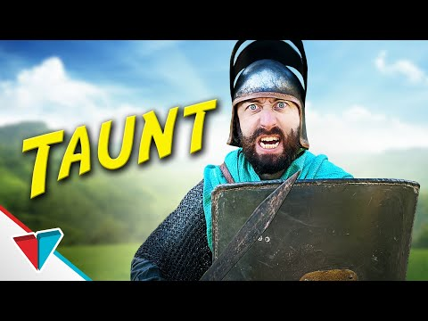 What taunting looks like in video games - Taunt
