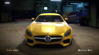 Need For Speed 2015 - Mercedes-AMG GT 2015 - Test Drive Gameplay (XboxONE HD) [1080p60FPS]