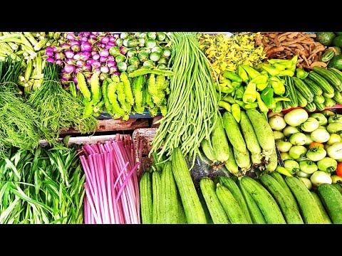 MASSIVE MARKET FOOD - Amazing Cambodian Market Food Sales