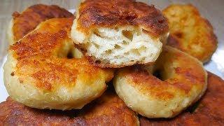 ✅Пышные сырные пышки на завтрак
