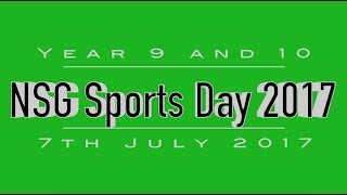 Years 9 & 10 Sports Day 2017