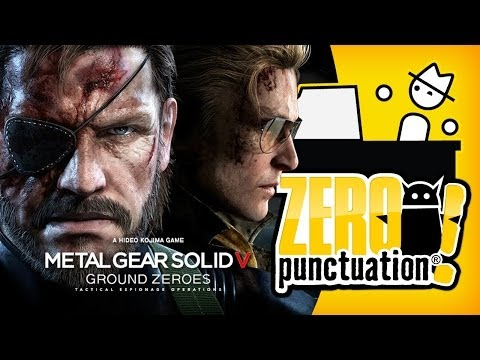 METAL GEAR SOLID V GROUND ZEROES - $40 DEMO (Zero Punctuation)