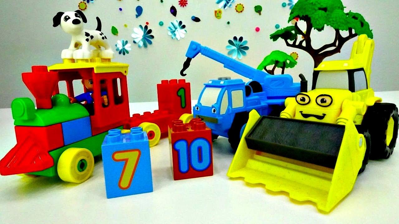 Coloriage Le Camion De Bob Le Bricoleur.Bob Bricoleur Et Le Train Video Educative Pour Apprendre A Compter