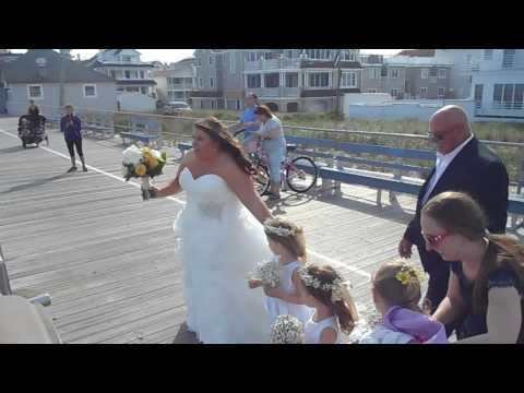 Ocean City NJ beach wedding...girls go to the beach...