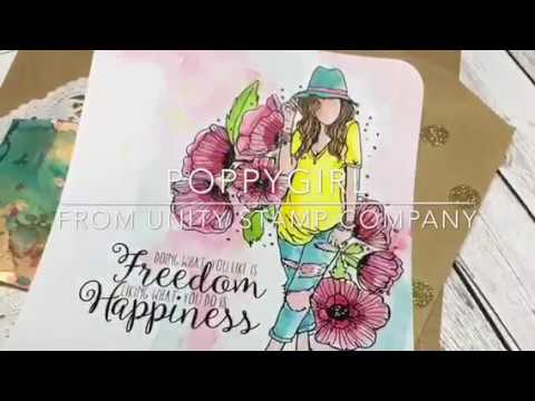 Unity Stamp CO Quick Tip Coloring with Angie Blom