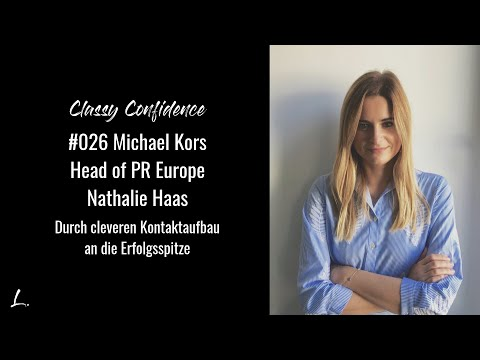 Michael Kors Head of PR Europe - Durch Kontaktaufbau an die