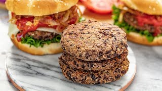 How to Make The Best Black Bean Burgers