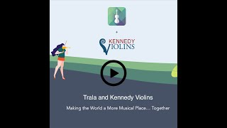 Kennedy Violins recommends TRALA.  It's a great practice app!