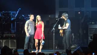 Keith Urban Sings Wanna Be Your Everything to Engaged Couple- [LIVE HD] - 7/17/14 Atlantic City