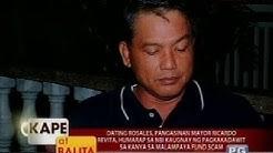 KB: Dating Rosales, Pangasinan Mayor Ricardo Revita, humarap sa NBI