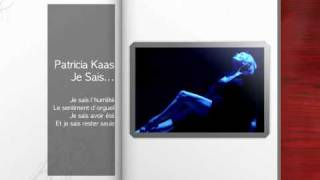 Watch Patricia Kaas Je Sais video
