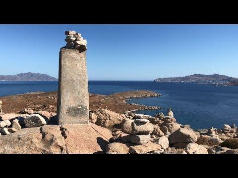 Summiting the Greek Island of Delos