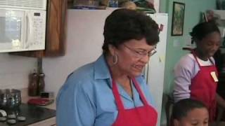 Cooking With Ms. Ina - Gizadas And Plantain Tarts Part 1 Of 3