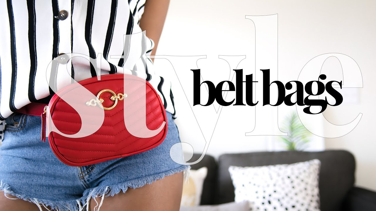 HOW TO STYLE BELT BAGS | 7 Outfit Ideas | LOOKBOOK 6