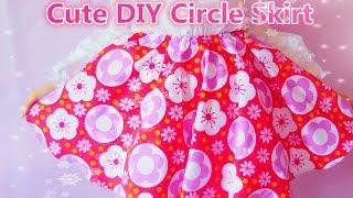Diy Circle Skirt (without Zipper Method)