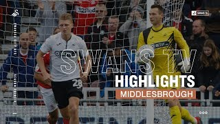 Highlights: Middlesbrough 0 - 0 Swansea City