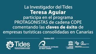 Teresa Aguiar (Investigadora de Tides) comenta las claves de éxito de empresas turísticas