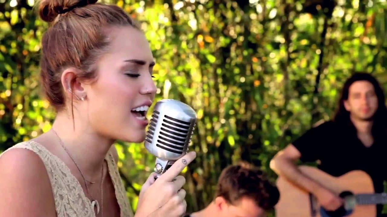 Miley Cyrus - Jolene (Backyard Session) HD - Enjoy - YouTube