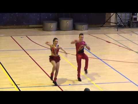 Ben Stassen & Bianca Jacobs, B Foot, Wedstrijd Bütgenbach 29.03.2015