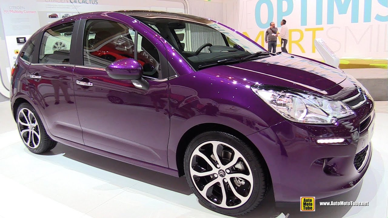 2015 citroen c3 exterior and interior walkaround 2015 geneva motor show youtube. Black Bedroom Furniture Sets. Home Design Ideas