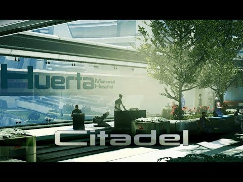 Mass Effect 3 - Citadel: Huerta Memorial Hospital [with music] (1 Hour of Ambience)