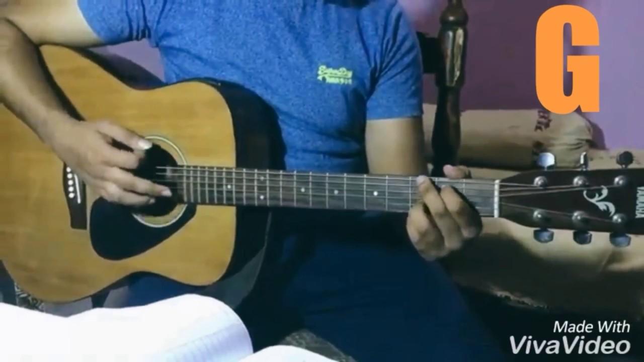 O Ri Chiraiya Guitar Chords With Strumming Pattern Acoustic Guitar