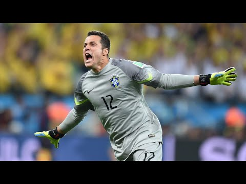 Júlio César - Best Saves - World Cup 2014 HD