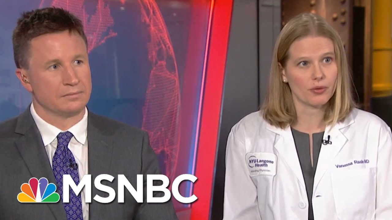 How To Protect Yourself Against Coronavirus | Katy Tur | MSNBC