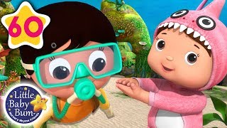 Under The Sea | Underwater Songs + More Nursery Rhymes & Kids Songs | Little Baby Bum