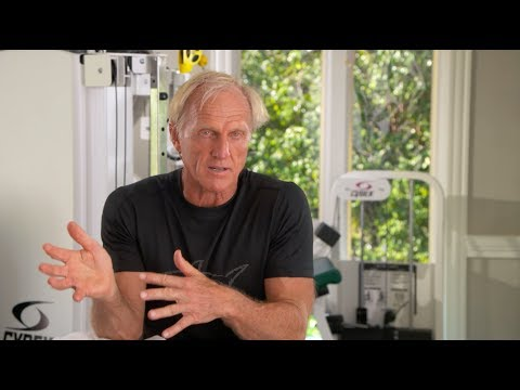 Greg Norman on fitness