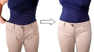 Come stringere un pantalone in pochi minuti - Tighten trousers - Tutorial by Diana Toto