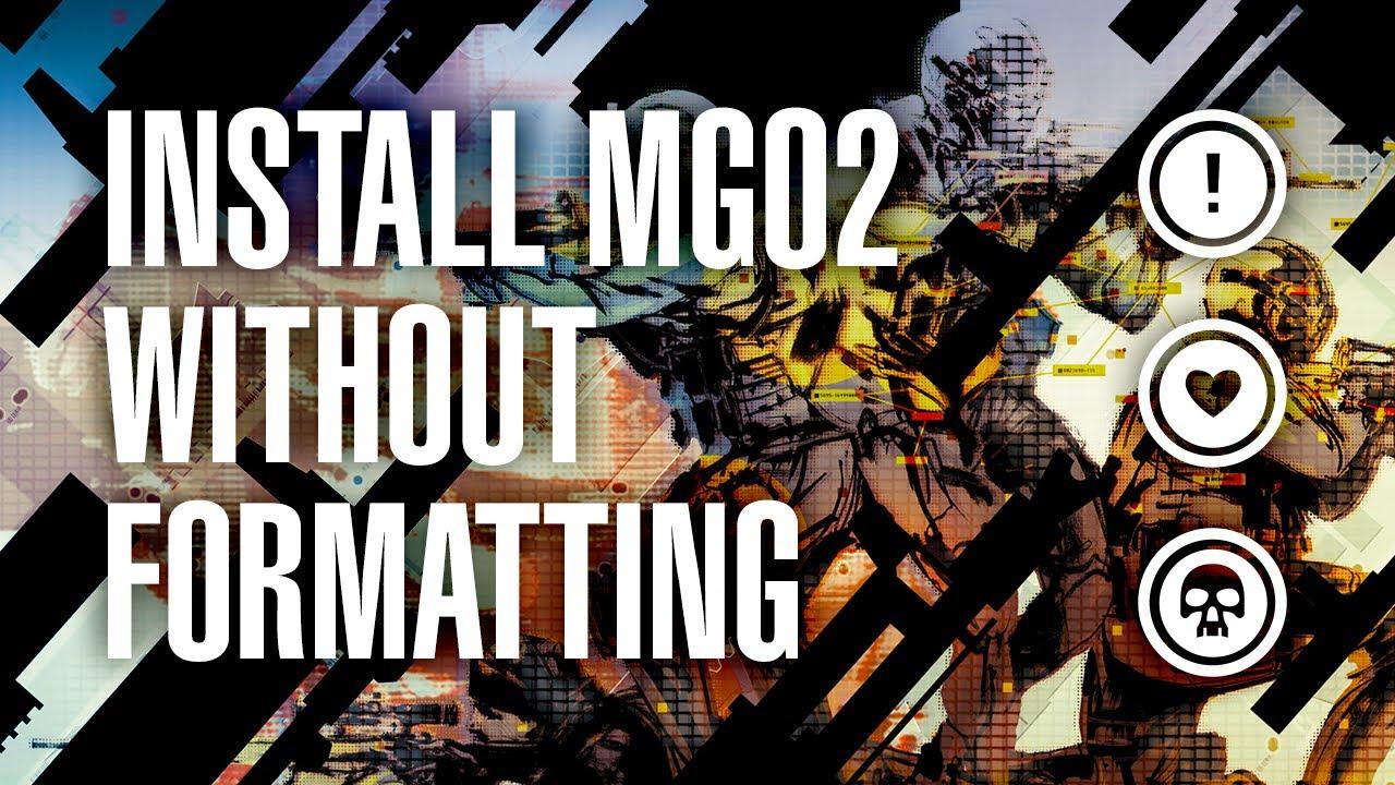 MGO2 Official Firmware Tutorial - SaveMGO