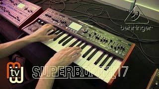 Behringer DeepMind 6 - аналоговый синтезатор (Superbooth 2017)