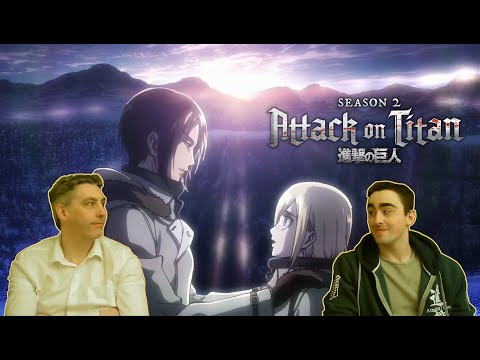"My Dad Reacts to Attack on Titan 2x05 - ""Historia"" or His New Favourite Character is Ymir!"