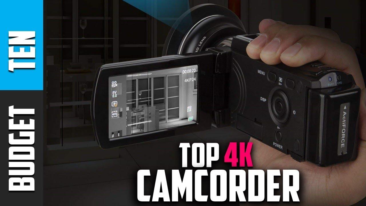 Best 4k Camcorder 2019 Best 4k Camcorder 2019   Budget Ten Camcorder Reviews   YouTube