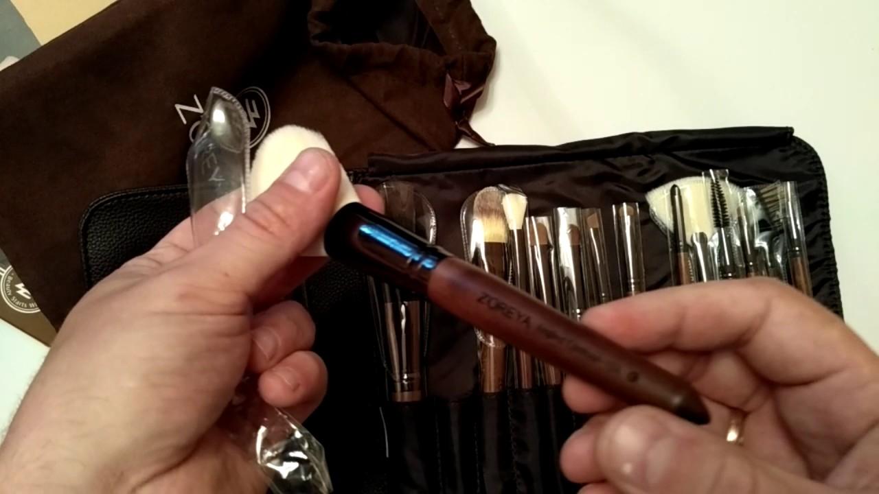 Кисти для макияжа с AliExpress + косметические мелочи! - YouTube