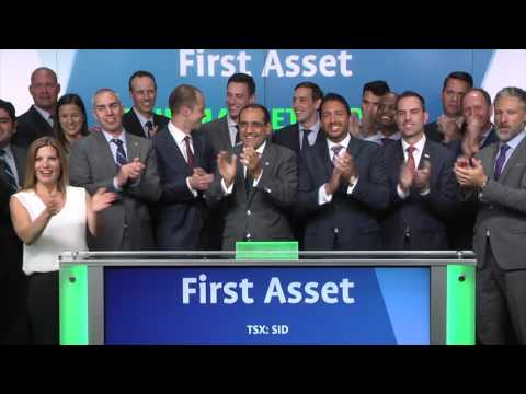 First Asset opens Toronto Stock Exchange, July 5, 2017